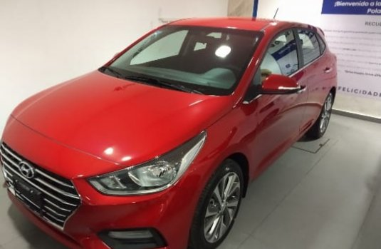 Hyundai Accent 2019 Hatchback Rojo