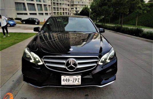 Mercedes-Benz E500 2014 Negro 4 PTS, E500, CGI, BITURBO, TA. GPS