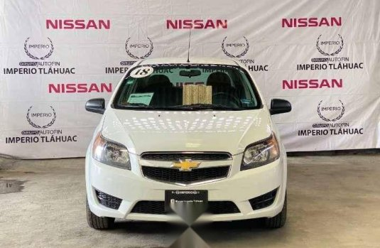 Chevrolet Aveo lt automatico 2018