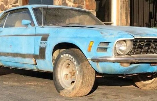 Ford Mustang azul