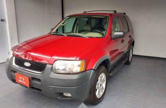 Ford Escape 2004 5p XLT aut piel
