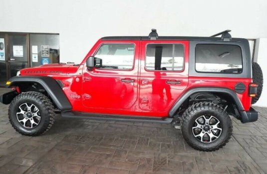 Jeep Wrangler 2018 3.6 V6 Unlimited Rubicon JK 4x4 At
