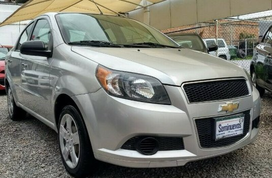 Chevrolet Aveo LT 2015, Estandar, Electrico,Usb, Alarma