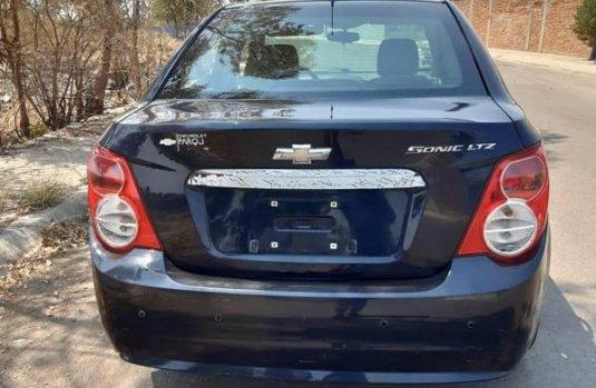 Flamante y Equipado Chevrolet Sonic LTZ
