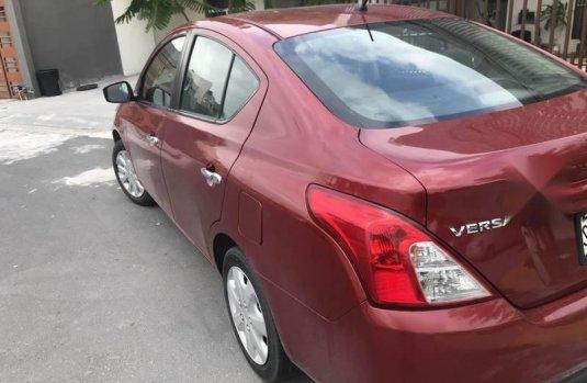 Nissan Versa sense 2016 std