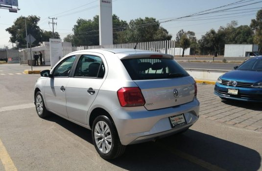 Volkswagen Gol 2019 Plata