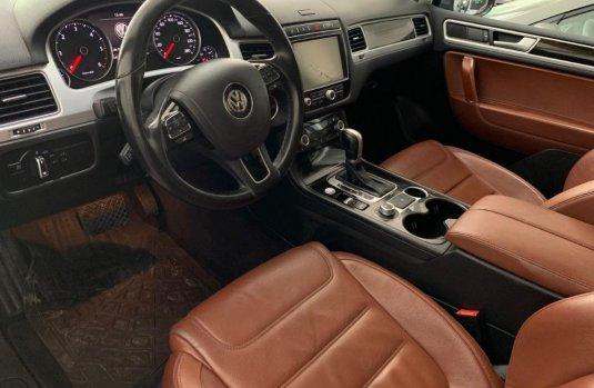 Volkswagen Touareg servicios de agencia