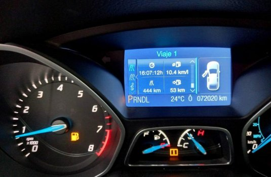 Ford Focus 2013 Azul