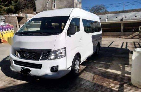 Camioneta Nissan Urvan 2016 en excelentes condiciones