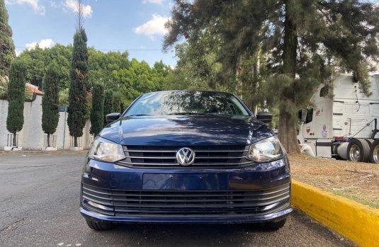 Volkswagen Vento 2017 Azul marino OPORTUNIDAD