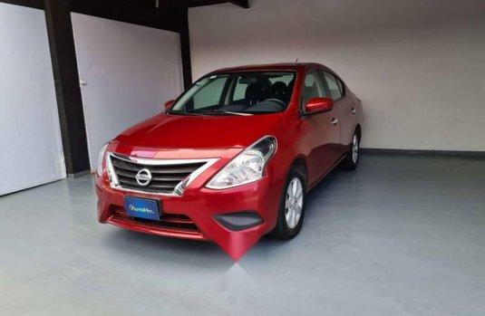 Nissan Versa Sence 2019 rojo