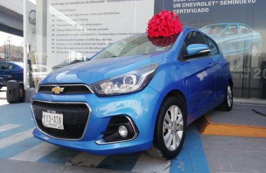 Chevrolet Spark 2017 Azul