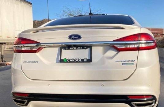 Ford Fusion 2018 2.0 Se Híbrido Cvt