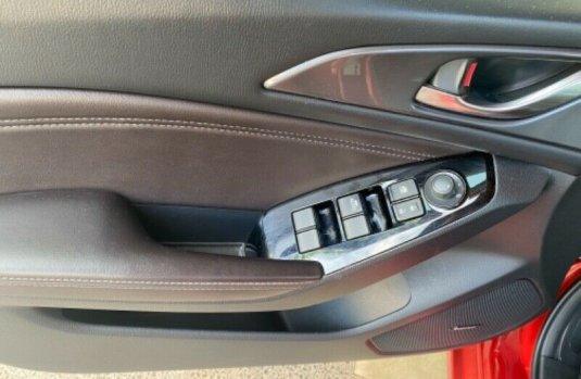 Mazda 3 Grand Touring rojo 2018