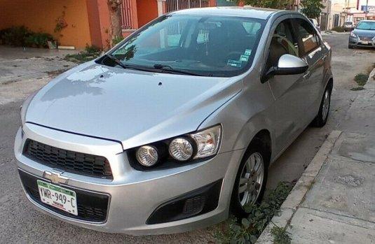 Venta de Chevrolet Sonic LT 2016 usado Manual a un precio de 119000 en Mérida