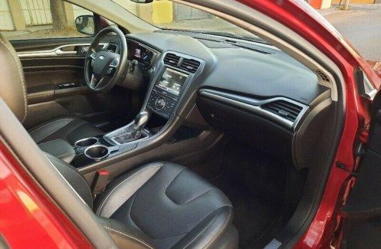 NACIONAL 2013 Ford Fusion Titanium Hibrido