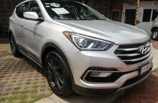 Hyundai Santa Fe 2018 barato en Xochimilco