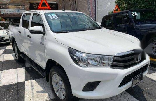 Se pone en venta Toyota Hilux 2018