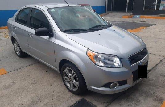Chevrolet Aveo LTZ 2017 barato en Huixquilucan