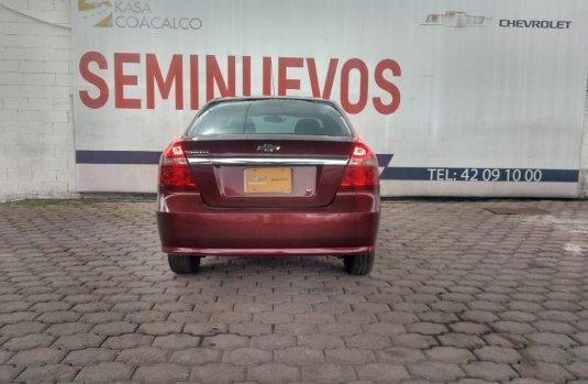 Chevrolet Aveo 2015 barato en Coacalco de Berriozábal