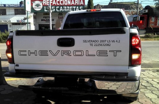 Se vende urgemente Chevrolet Silverado 1500 2007 en Amozoc