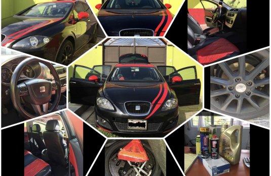 Venta de autos Seat Leon 2010, Negro con precios bajos en México