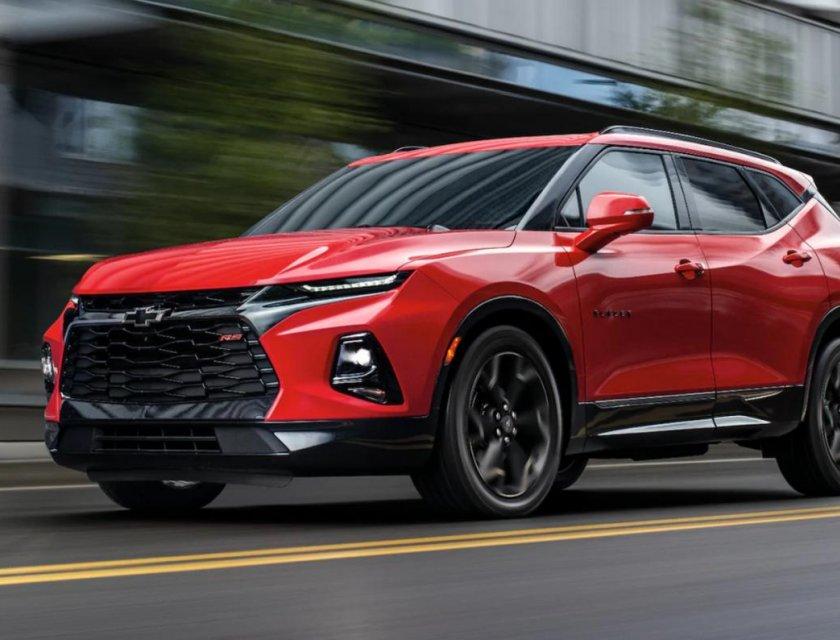 Chevrolet Blazer RS 2019 carretera