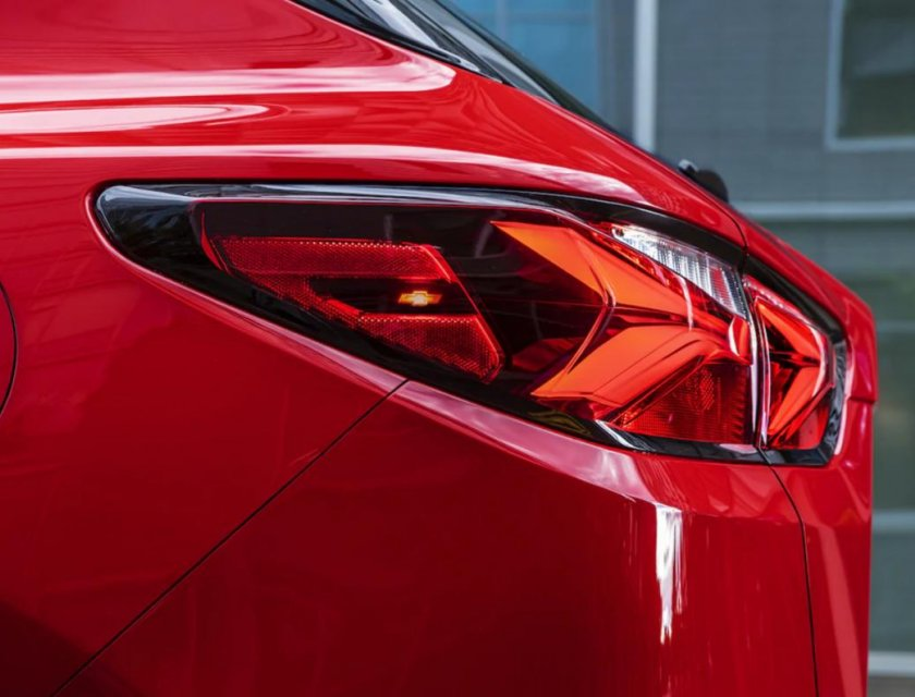 Chevrolet Blazer RS 2019 calaveras detalle