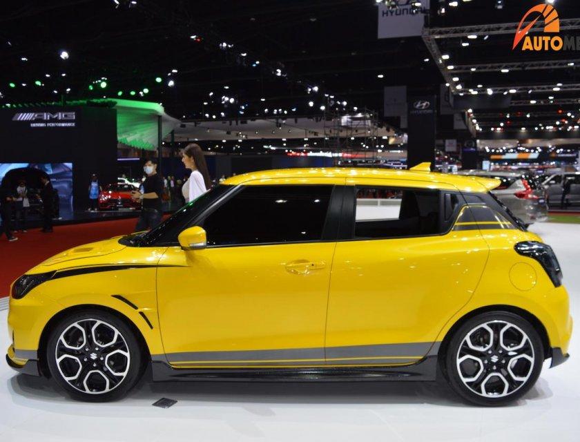 Suzuki Swift 2020 en Bangkok Motor Show 2019