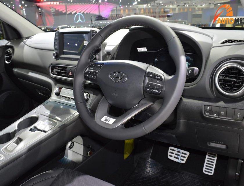 Hyundai Kona 2020 eléctrico en Bangkok Motor Show 2019