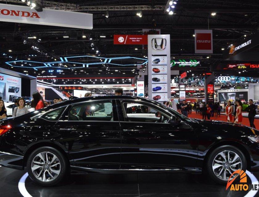 Honda Accord 2020 en Bangkok Motor Show 2019