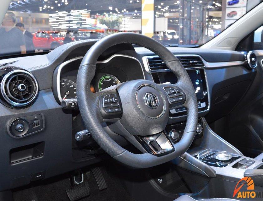 MG eZS electric SUV 2020 en Bangkok Motor Show 2019