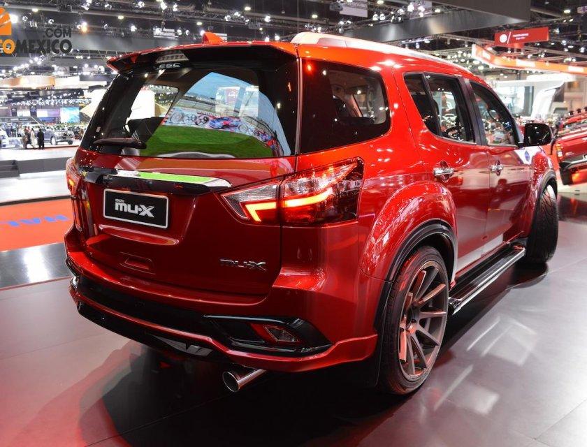 Isuzu Mu-X 2020 en Bangkok Motor Show 2019