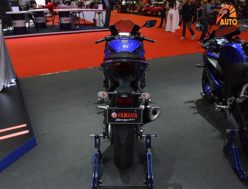Yamaha YZF-R3 2019 en Bangkok Motor Show 2019