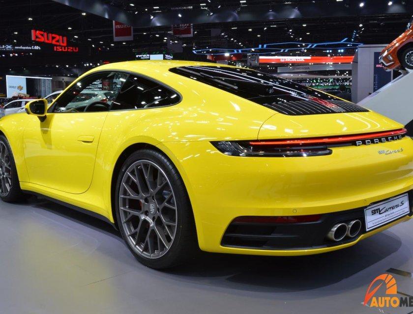 Porsche 911 Carrera S 2020 en Bangkok Motor Show 2019