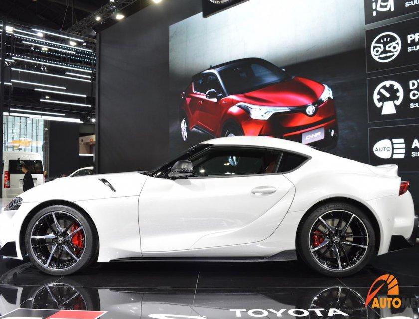 Toyota GR Supra 2020 en Bangkok Motor Show 2019