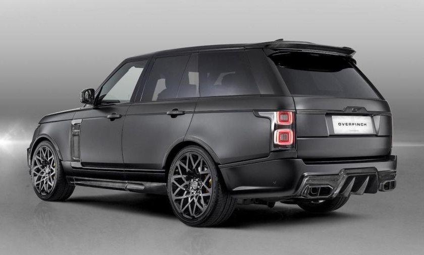 Range Rover Velocity edición especial por Overfinch