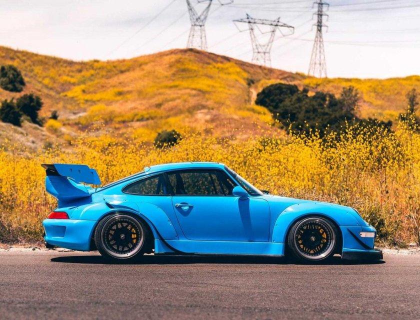 Porsche 911 993 by Forgestar Wheels