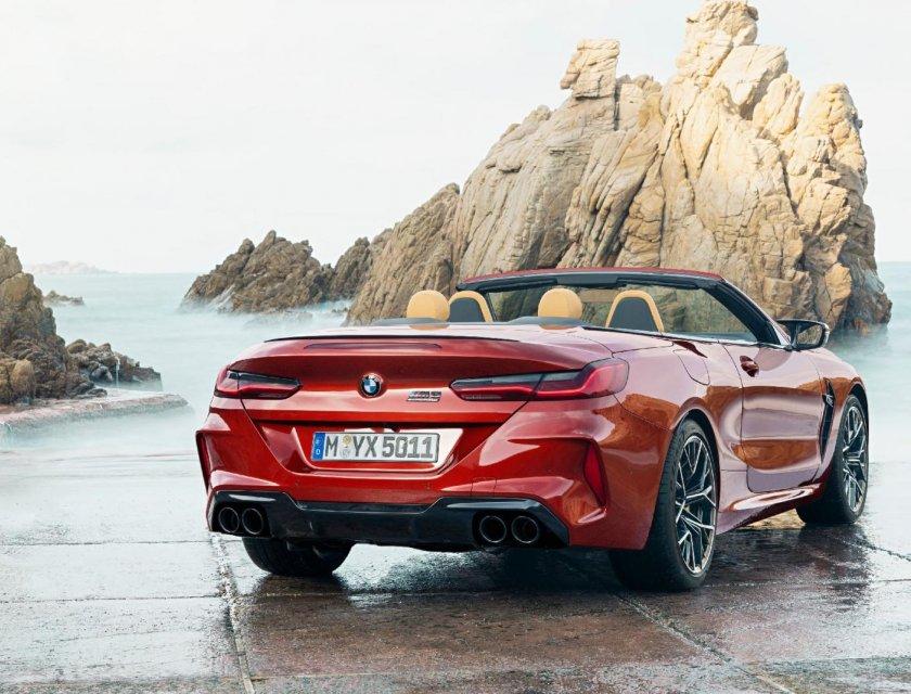 BMW M8 Convertible 2020
