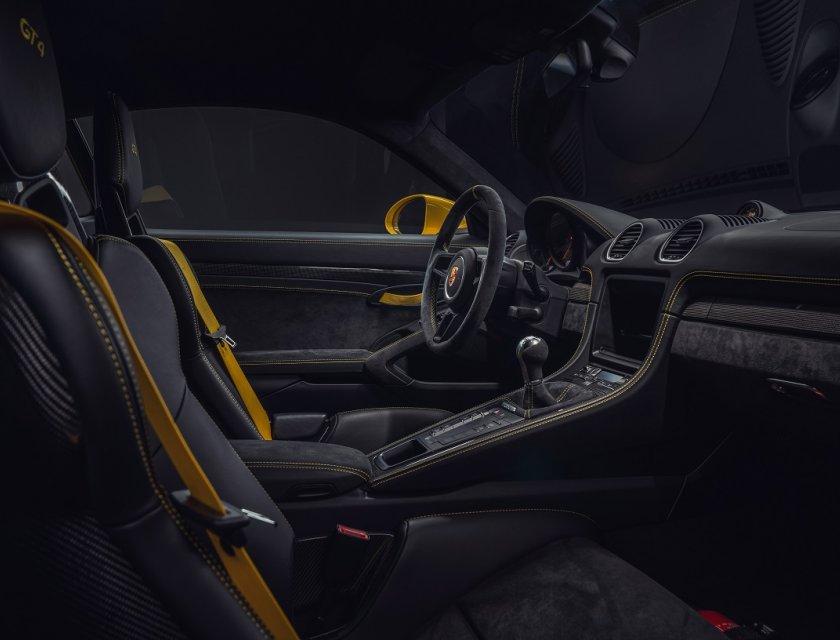 Porsche 718 Spyder y Cayman 718 GT4