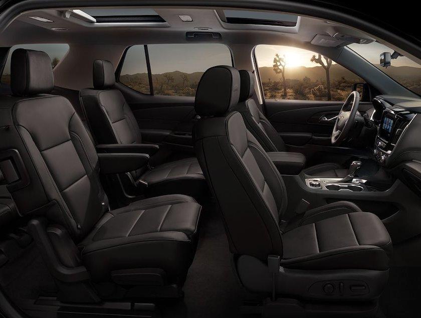 Chevrolet Traverse LT 8 pasajeros 2019