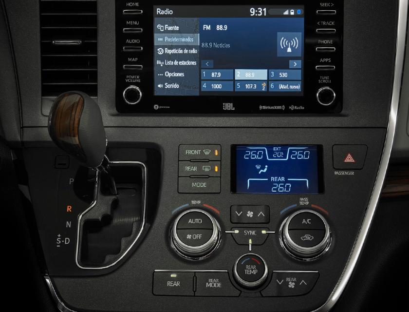 Toyota Sienna Ltd 2020
