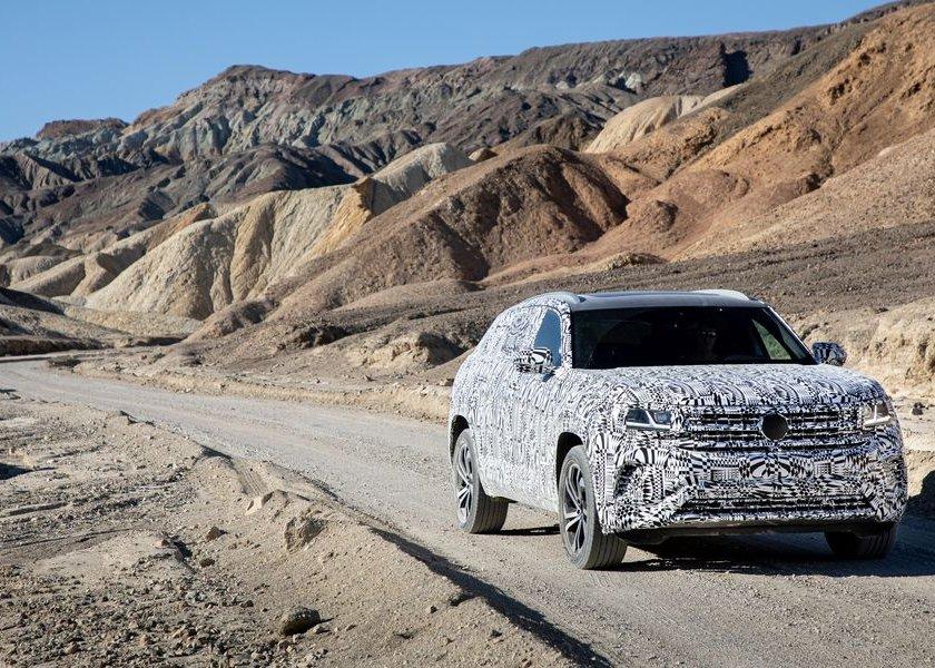 Volkswagen Atlas Cross Sport Prototype 2020