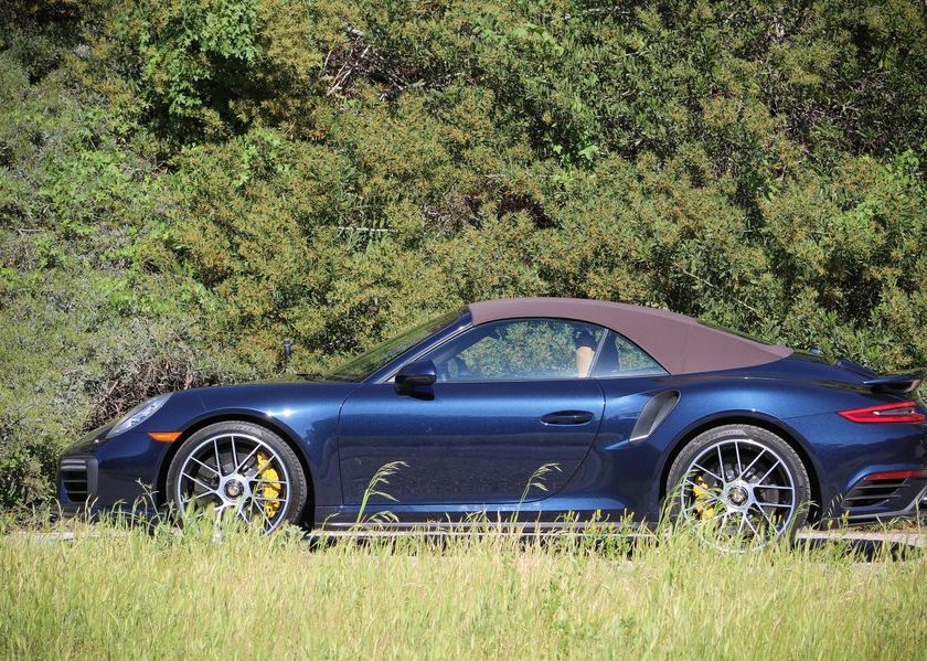 Porsche 911 Turbo S Cabriolet 2019