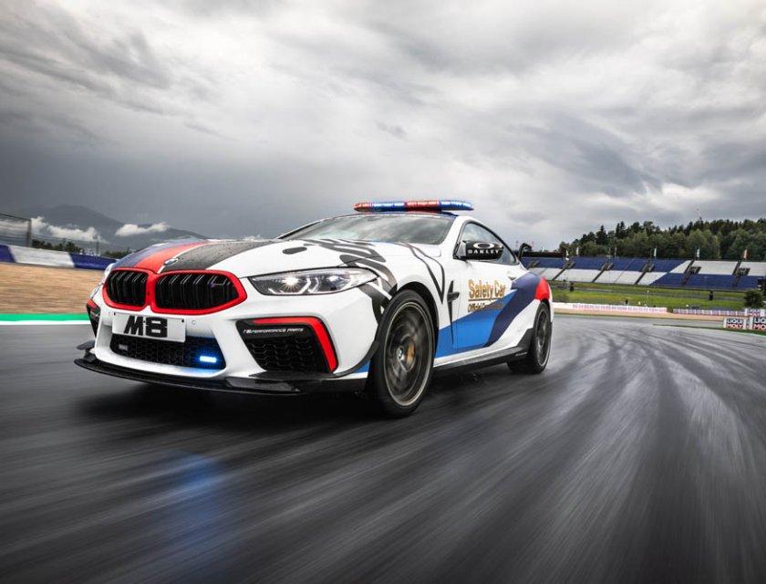 BMW M8 MotoGP Safety Car 2019