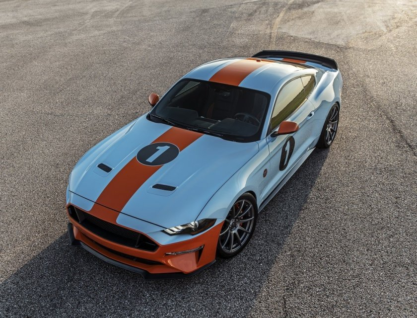 Ford Mustang Gulf Heritage Edition 2019