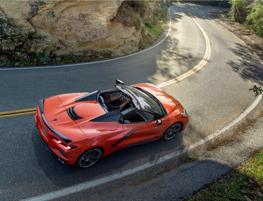 Chevrolet Corvette Stingray Convertible 2020