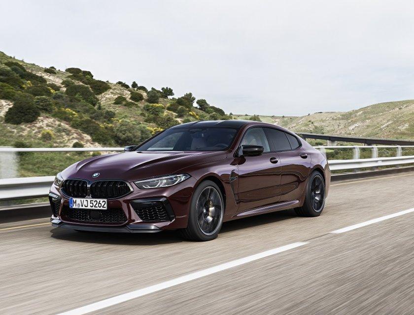 BMW M8 Gran Coupé 2020