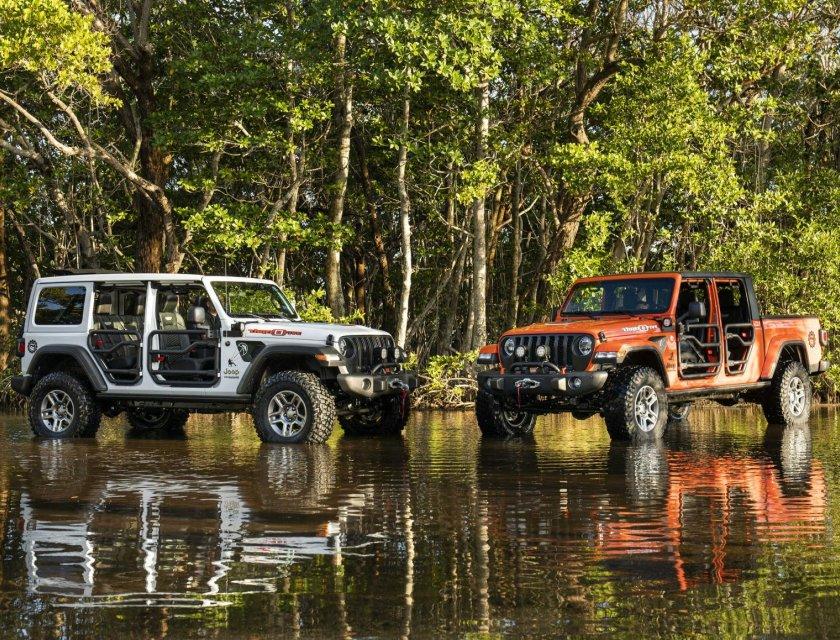 Jeep Wrangler y Jeep Gladiator Three O Five