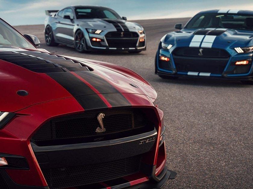 Imágenes de Mustang 2020